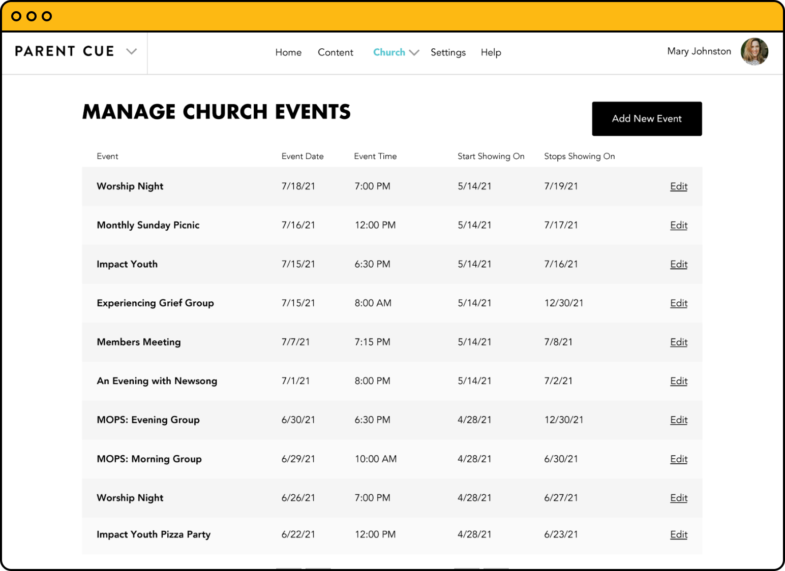 Announcements, registrations and push notifications all work seamlessly to centralize your most important ministry' communications in one place.