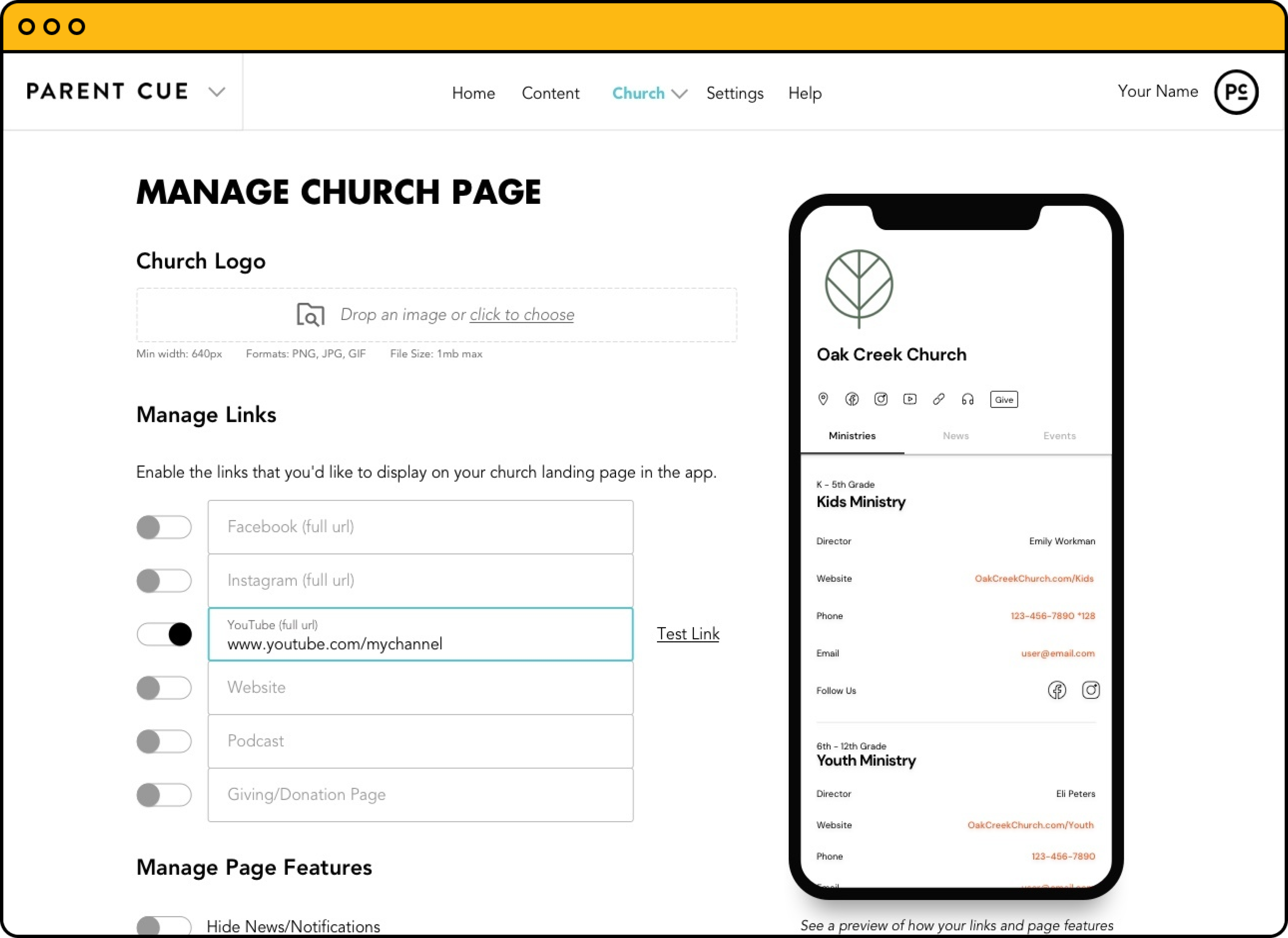 One church account simplifies online giving, aligns all age-group ministries, and saves you money!